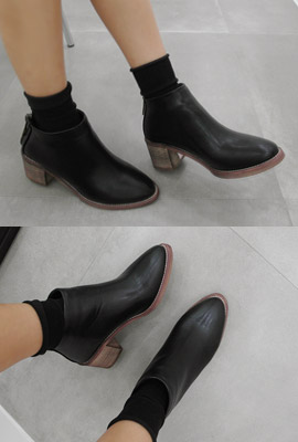 Zipper bag tonggup flops Ankle Boots