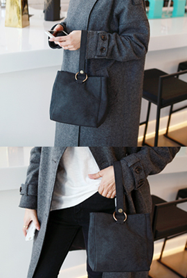 Square ring buckle Tote