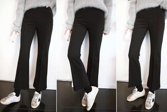 High boots cut line cut slacks (18th restocking)