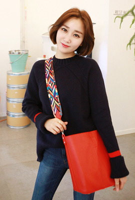 Red Line regeulreon knit tee (5th stock)