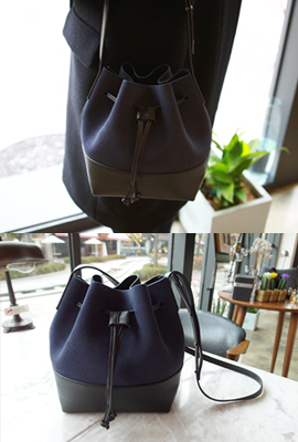 Color leather bag bokjori (3rd stock)
