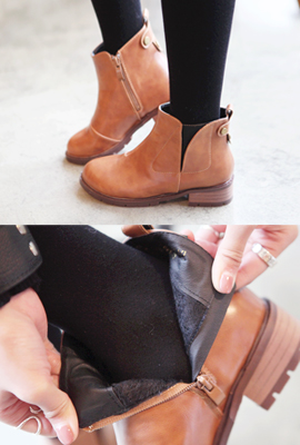 Cut back studs flops Ankle Boots