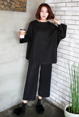 Teuim wide-banded two-piece set