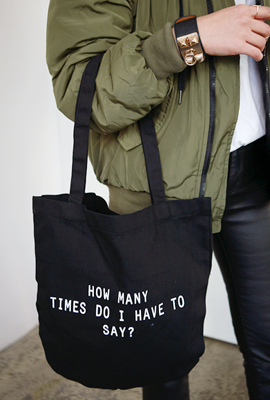 English vandal printing Eco Bag