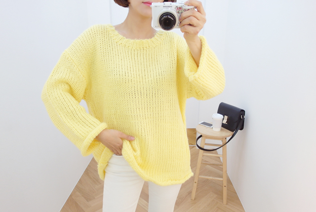 Rolling soft knit tee round (13th restocking)