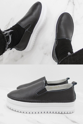 Real Leather Tongue Slip-on (3rd stock)