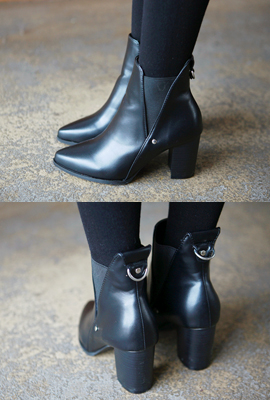 Stiletto Ankle Boots banding tonggup