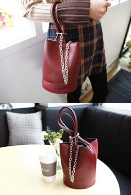 Mix Circle Chain Tote
