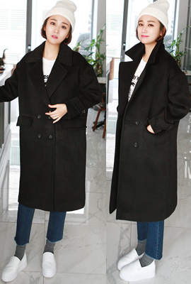Retail strap quilted coat double ulrong (3rd stock)