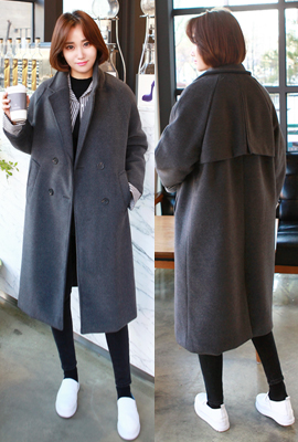Quilted coat double hundred points
