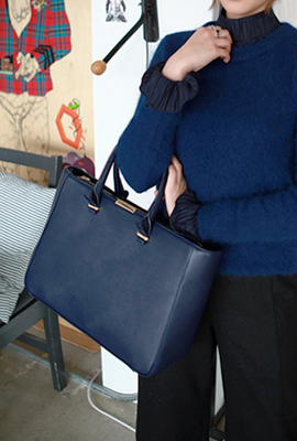 Modern square tote bag (secondary stock)