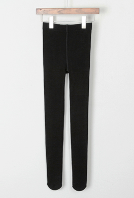 Black, brushed tights (6th in stock)