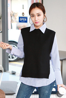 Best dangara knit shirt set