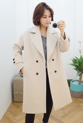 Sleeve Strap Long boots Long coat (4th stock)