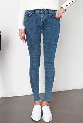 Marion simple cut skinny jeans