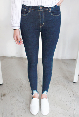 Vintage cutting Skinny Jeans