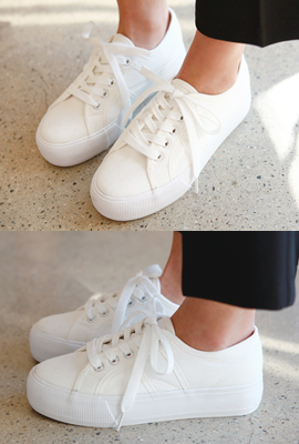 Basic Tongue Sneakers (7th stock)