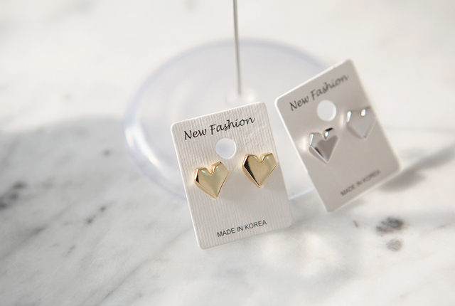 Mini Heart Earrings (4th stock)