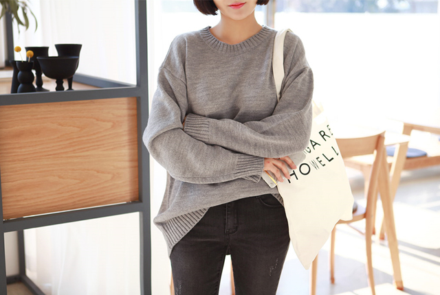 Loose Knit Tee Round (7th stock)