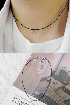 Mini Tri choker necklace (secondary stock)