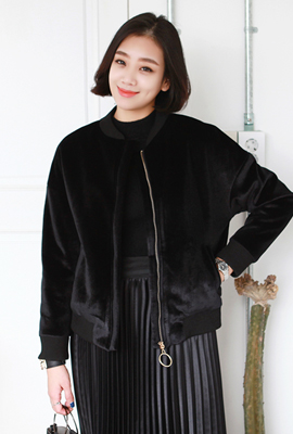 Gold ring velvet quilted jackets