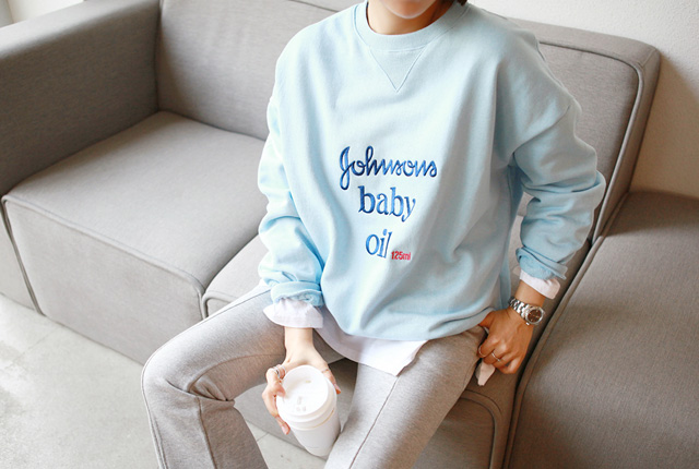Baby oil tee one-to-one (restocked 8th)