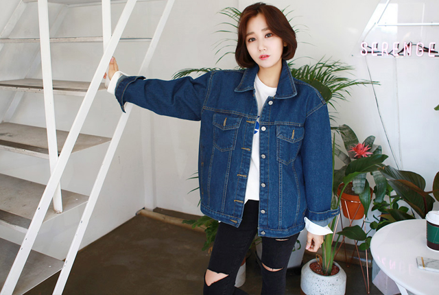 Daily denim jacket (19 primary stock)
