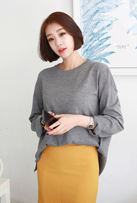 Loose Knit Tee Marion (secondary stock)