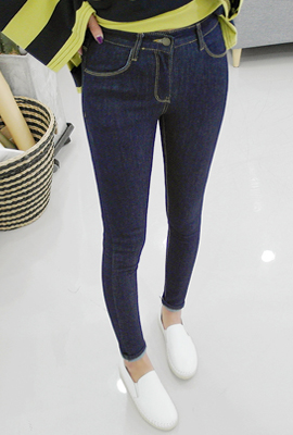 Daily simple skinny jeans (secondary stock)