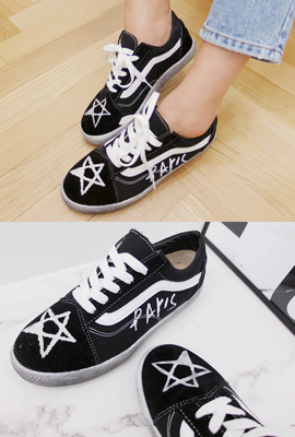 White line sneakers (3rd stock)