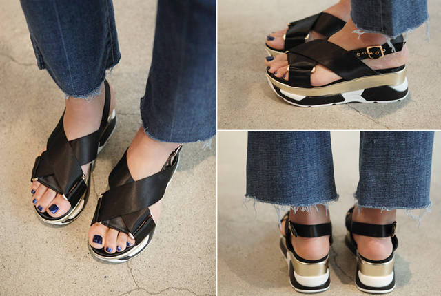 X-Strap Tongue Sandal (5th stock)