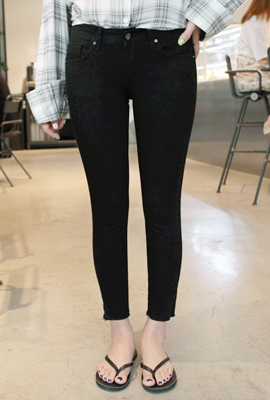 Basic Cutting Skinny Pants (3rd stock)
