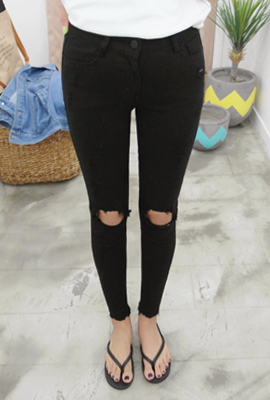 Vintage Damage Skinny Pants (7th stock)