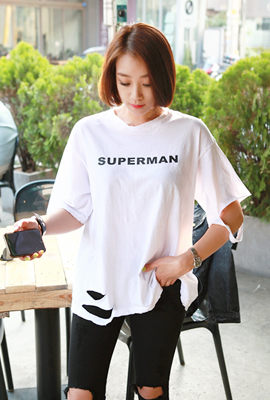 Superman vintage short sleeve tees