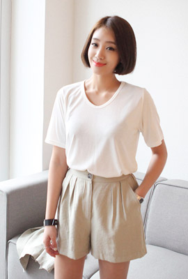 Cooling round short sleeves (6th stock)