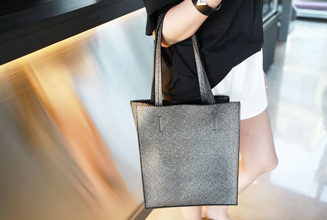 Bling Square Leather