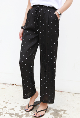 Dot bending pants (3rd stock)