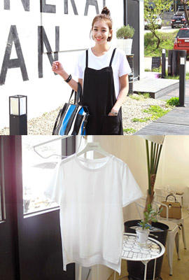 SimpleTime unfold round tee (3rd stock)
