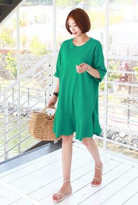 Basic flare dress (15th stock)