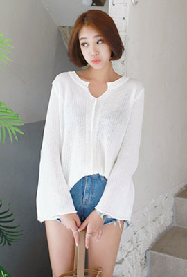 Vite wide knit tee (second stock)