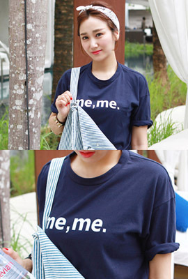 Short-sleeved short-sleeved tee