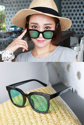 Rounding Square Tinted Sunglasses