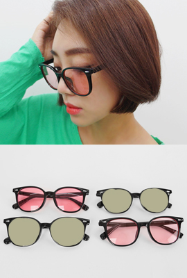 Thin Square Tinted Sunglasses