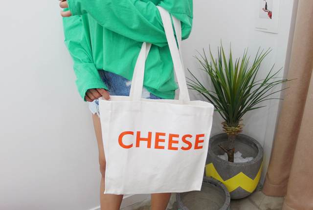 Cheese Printing Eco Bag