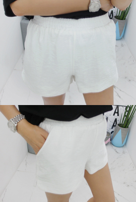 Pearl banding short pants (12th stock)