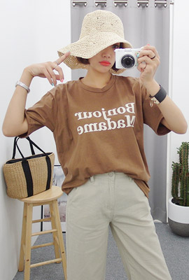 Bonjour Short Sleeve Tee (2nd stock)