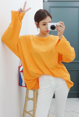 Color slab wide tee (stock 11)