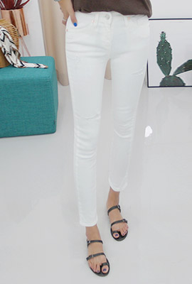 Scratch Slim Skinny Pants