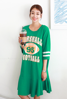 Rugby Flare Dress (2nd stock)