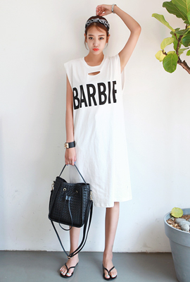 Barbie Hall Cutting Long Nails Dress (2nd stock)